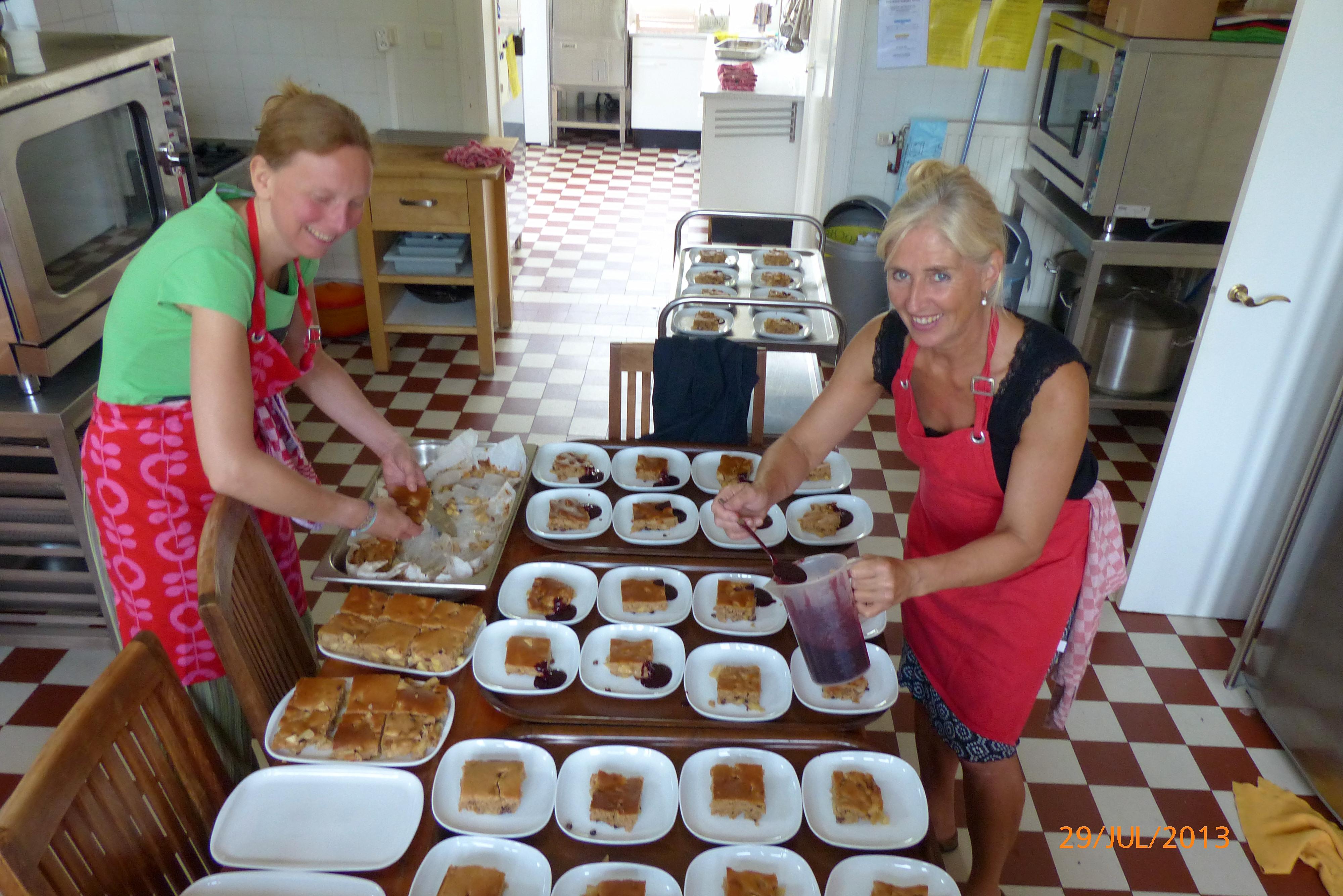 Catering op locatie Chateau Frandeux, Belgie.